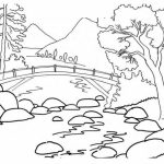 Simple Nature Coloring Pages to Print for Preschoolers   cdsxi