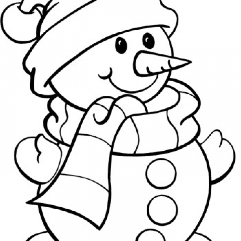 Get this snowman coloring pages free printable 66396 for Free coloring pages snowman