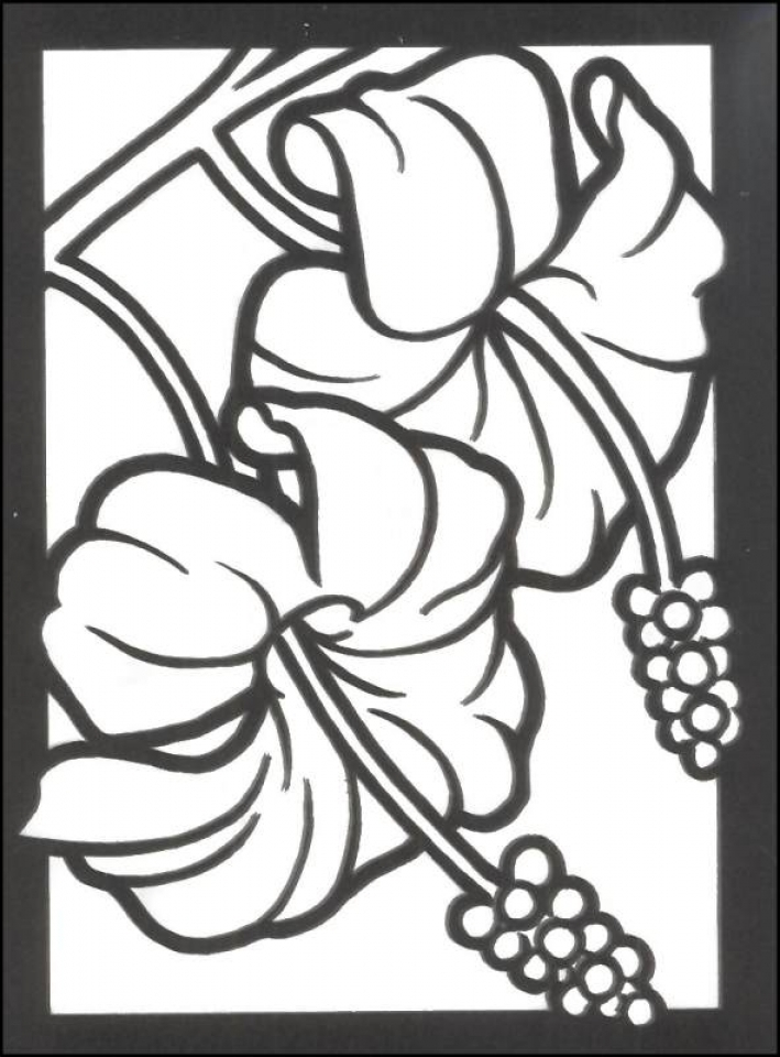 printable stained glass coloring pages - get this stained glass coloring pages free printable 16479