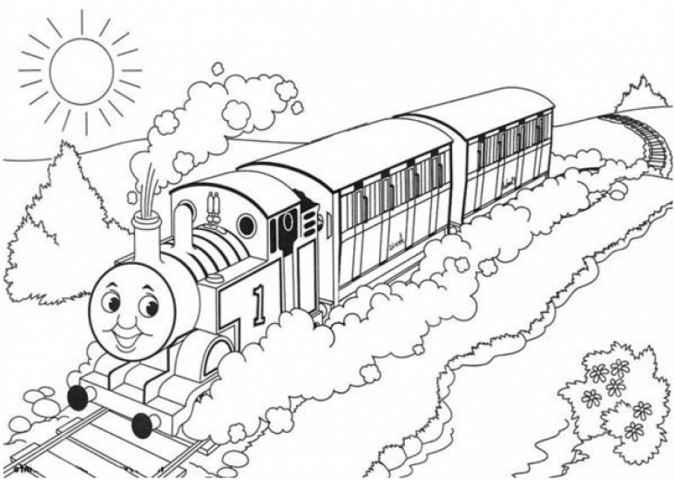 thomas friends coloring pages free - photo#5
