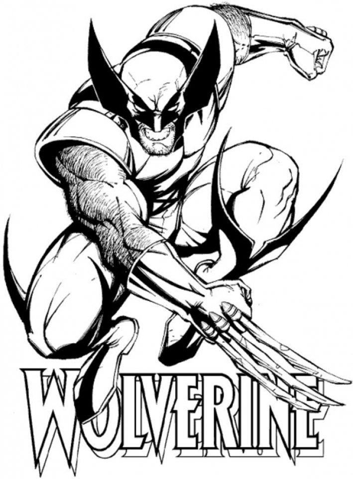 20 free printable wolverine coloring pages everfreecoloringcom