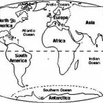 World Map Coloring Pages to Print for Kids   aiwkr