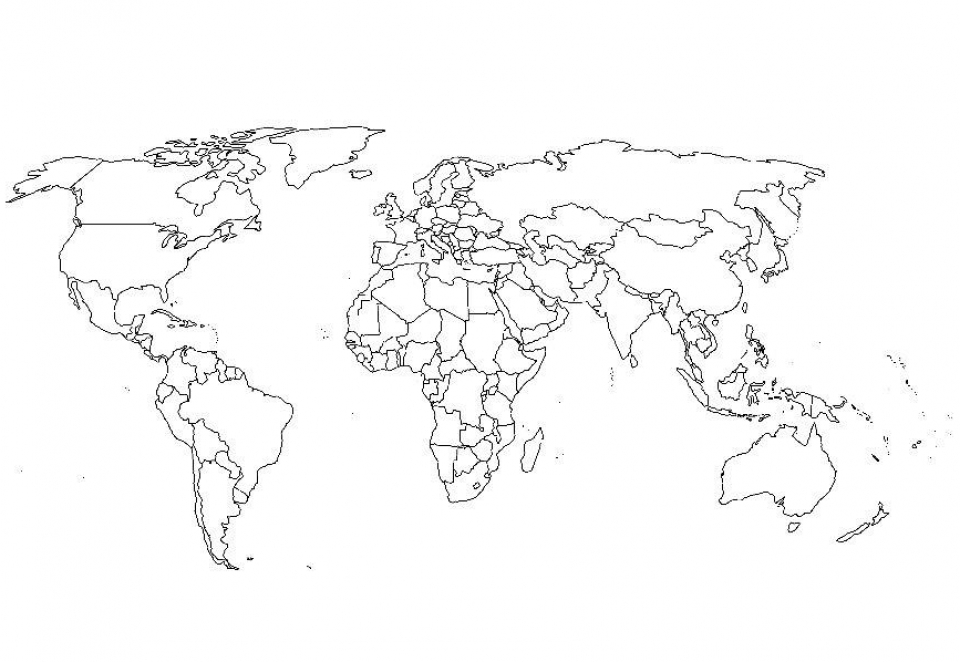 Get This World Map Coloring Pages to Print Online lj8rr !