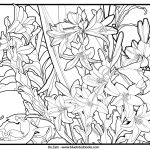 Art Deco Patterns Coloring Pages Free Printable for Adults - 775d
