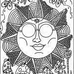 Cool Trippy Coloring Pages for Grown Ups - PLD72
