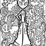 Cool Trippy Coloring Pages for Grown Ups - tf5a9