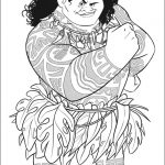 Free Moana Coloring Pages to Print - DH84L