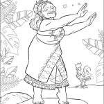 Free Moana Coloring Pages to Print - RQ78P