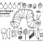 The Very Hungry Caterpillar Coloring Pages Free for Kids - 74821