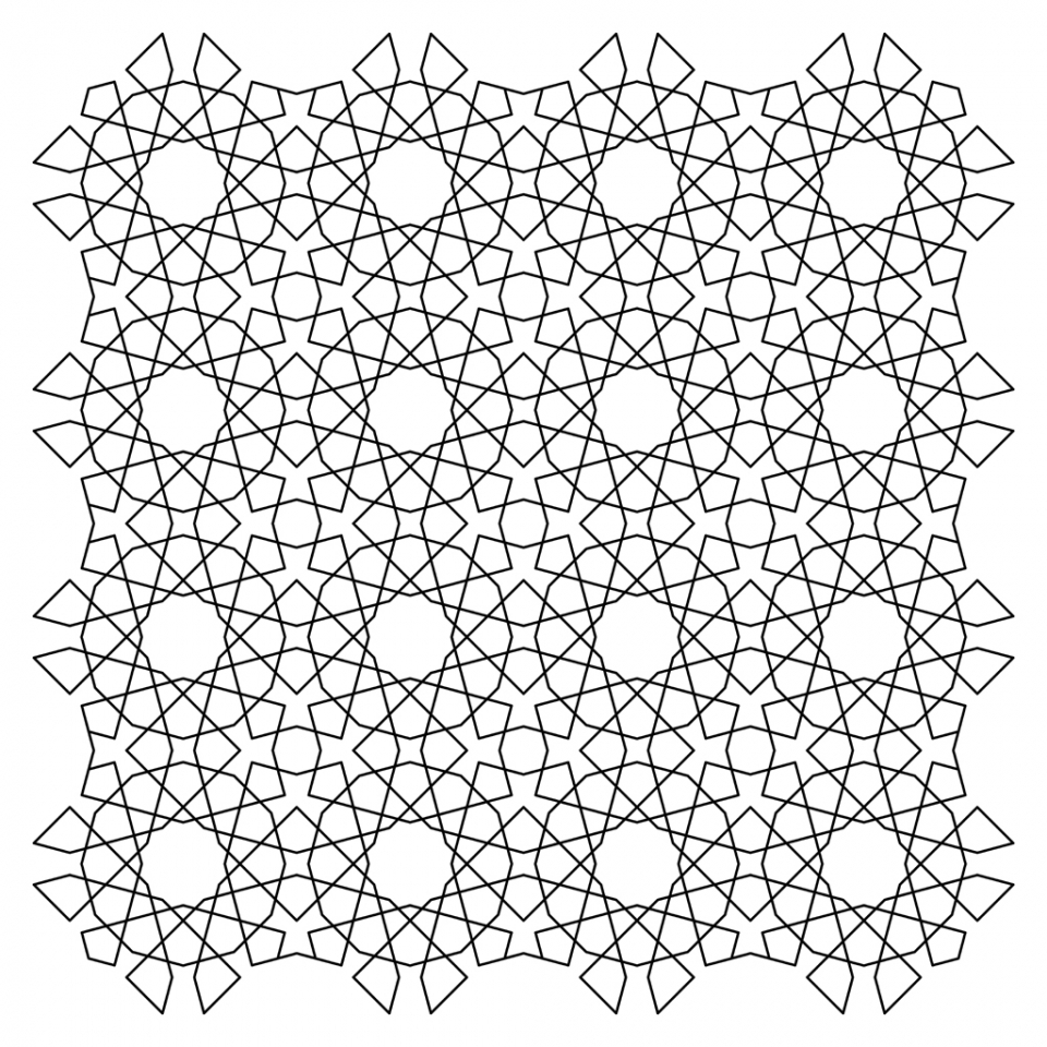Adult Printable Tessellation Coloring Pages   18549