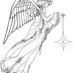 Angel Coloring Pages for Adults   24V8