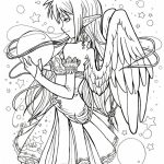 Angel Coloring Pages for Adults   4V6H7