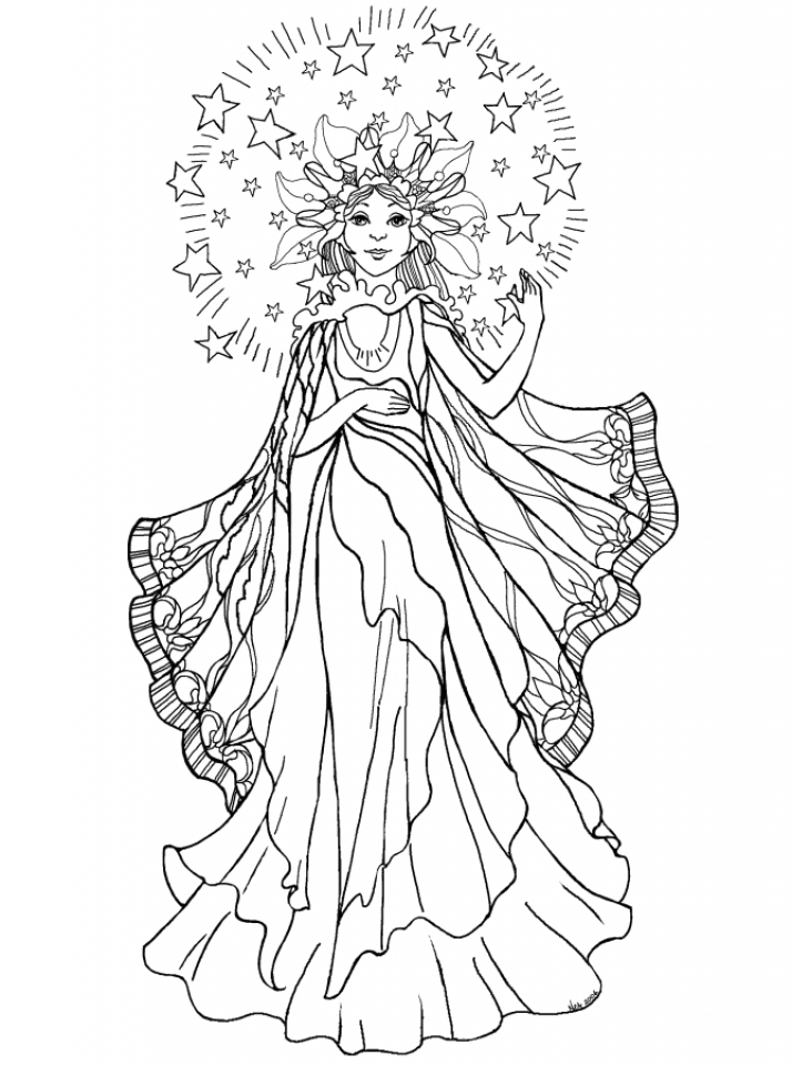 Angel Coloring Pages for Adults   88DSA2