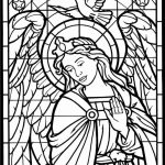 Angel Coloring Pages for Adults   8C345G