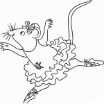 Angelina Ballerina Coloring Pages Free Printable   772660