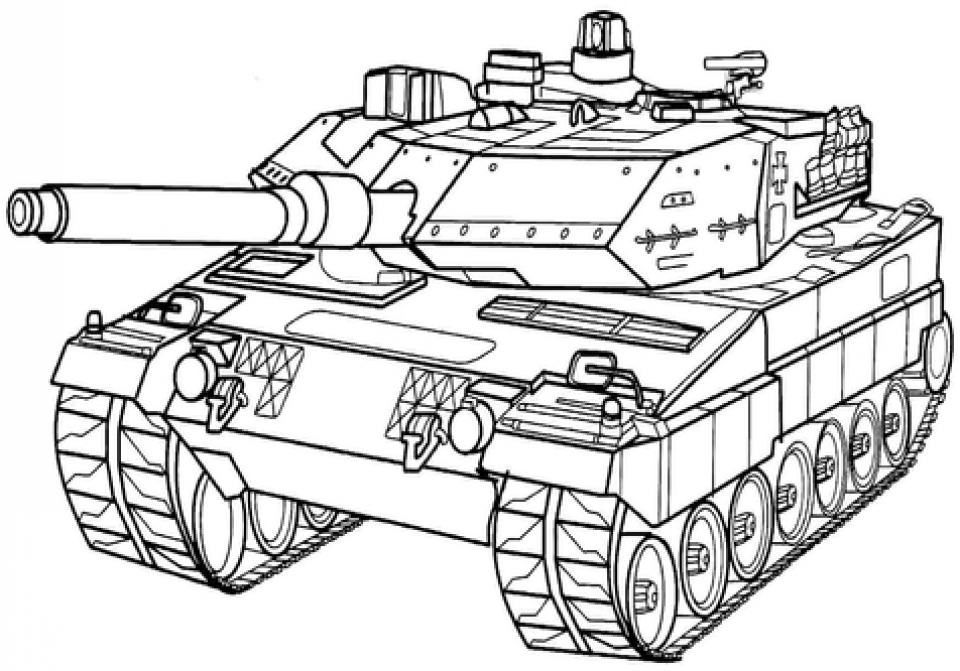 Army Tank Coloring Pages Free Printable   577vn