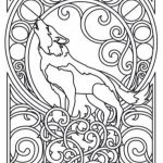 Art Deco Patterns Coloring Pages for Adults to Print   2369vj