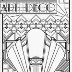 Art Deco Patterns Coloring Pages for Adults to Print   gfrf368