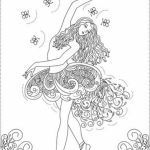 Ballerina Coloring Pages for Kids   56834