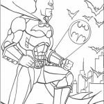Batman Coloring Pages Free Printable   606709