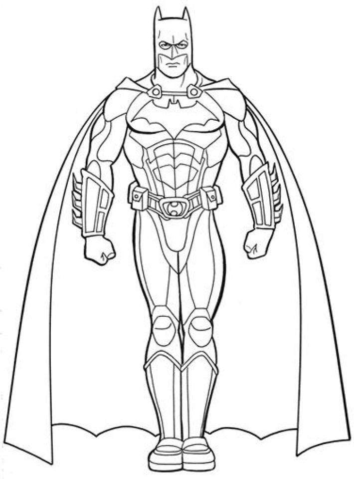 Get This Batman Coloring Pages