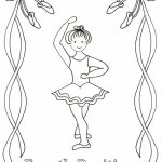 Beautiful Ballerina Coloring Pages   88541