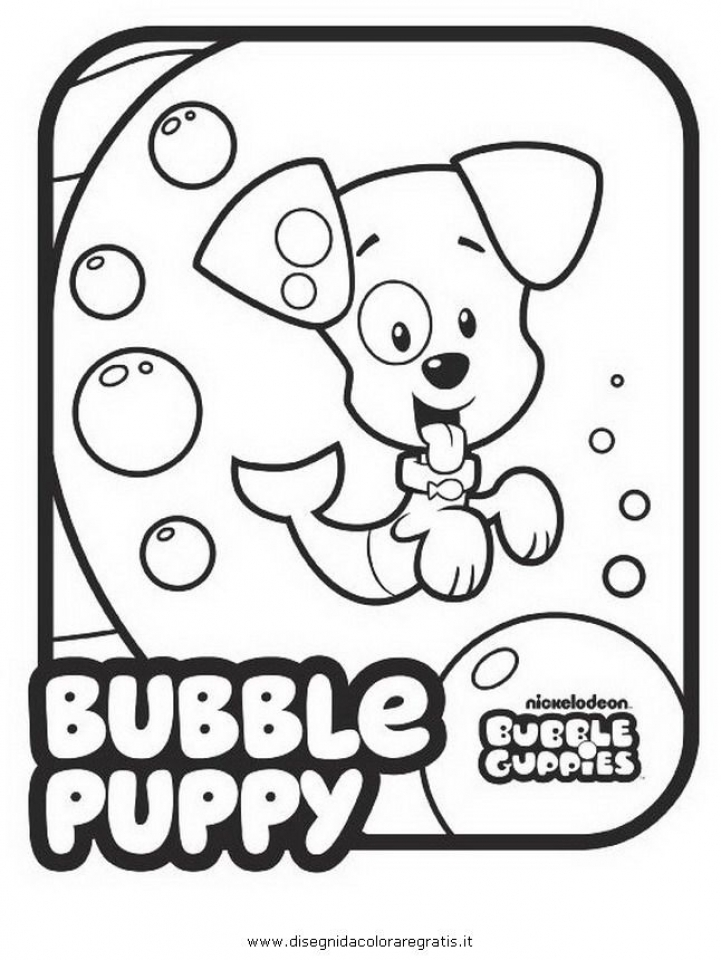Bubble guppies halloween coloring pages ~ Get This Bubble Guppies Coloring Pages Free Printable 434402