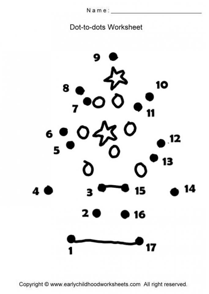 Christmas Dot to Dot Coloring Pages Free Printable   7F8R3
