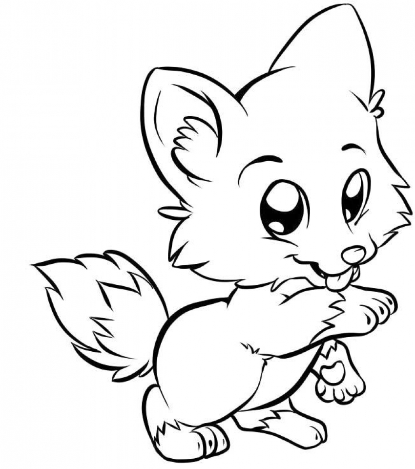 Get This Cute Coloring Pages Free