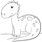 Dinosaurs Coloring Pages Free Printable   jcaj23