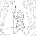 Disney Moana Coloring Pages   PQ21J