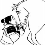 Disney Princess Mulan Coloring Pages   yt694