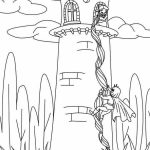 Disney Princess Rapunzel Coloring Pages   PV75B