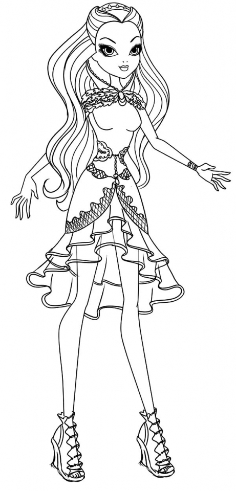 Get This Ever After High Coloring Pages Free Printable 56449
