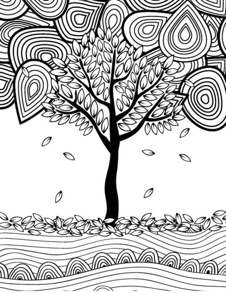 Fall Coloring Pages for Adults   yy785