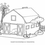 Farm Coloring Pages Free Printable   K2RWW