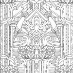 Free Art Deco Patterns Coloring Pages for Adults   225709