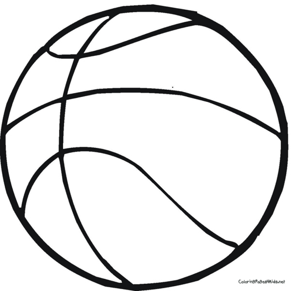 Coloring Pages For Basketball : Get this free basketball coloring pages
