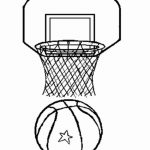 Free Basketball Coloring Pages   492367