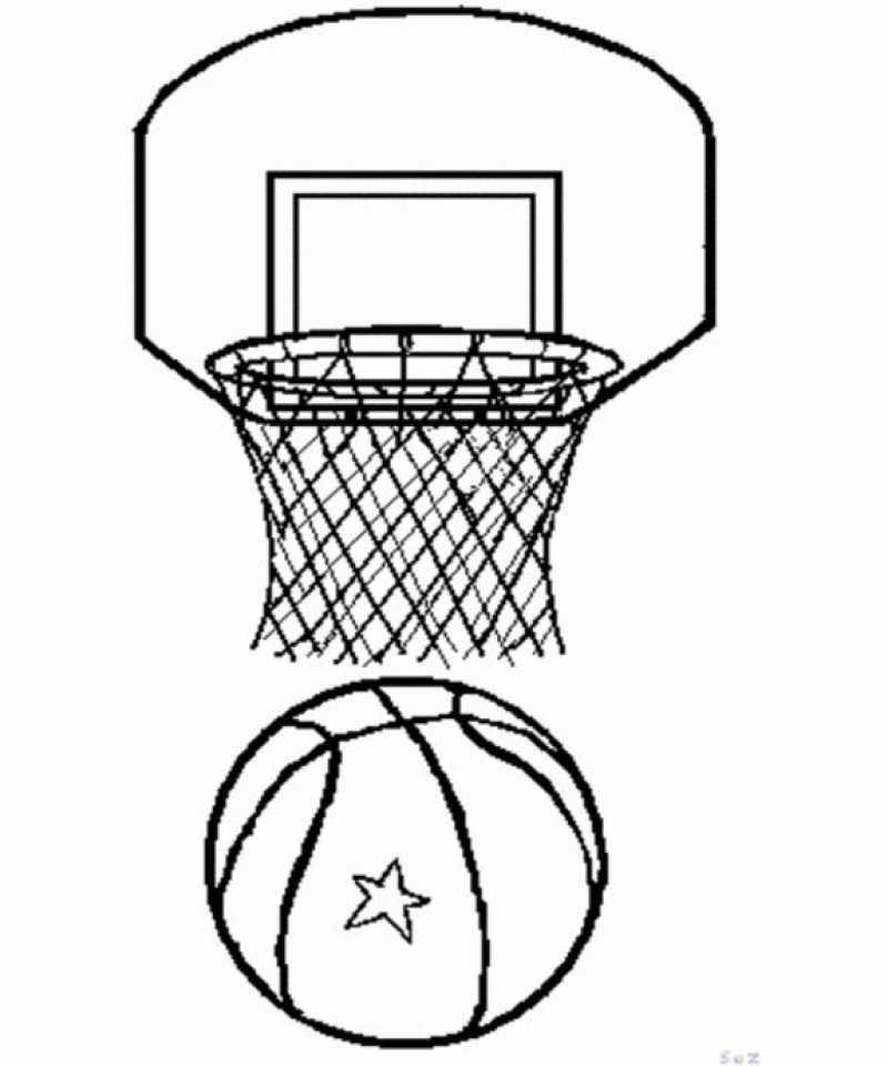 Get this free basketball coloring pages 492367 for Free basketball coloring pages