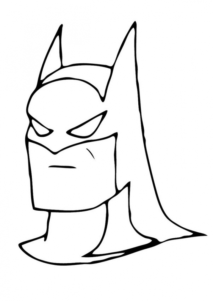 Free Batman Coloring Pages to Print   993970