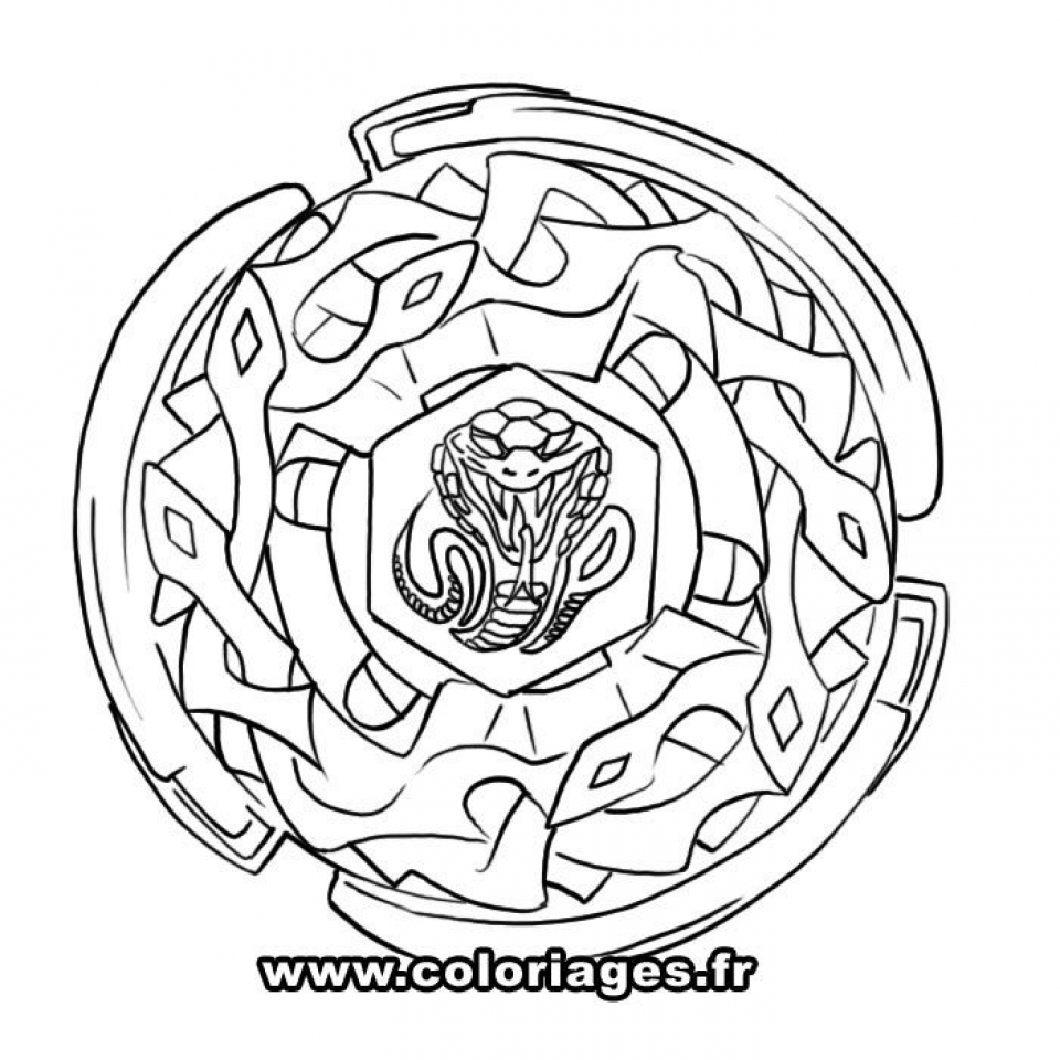 Get Beyblade Coloring Pages