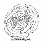 Free Beyblade Coloring Pages   39747