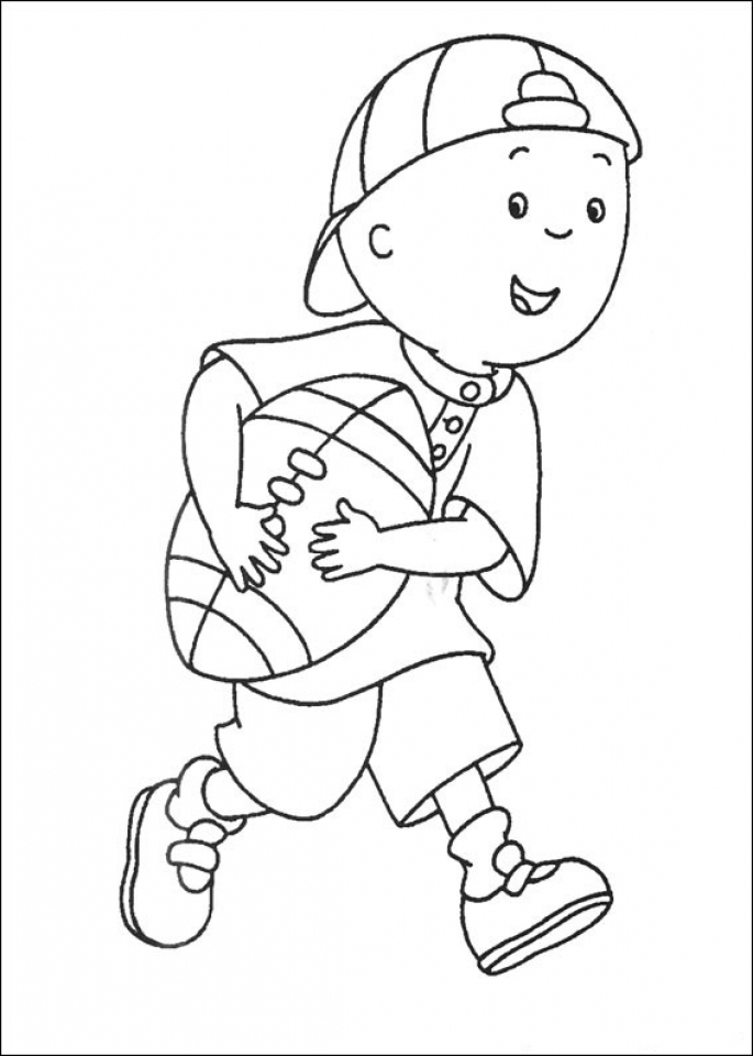Free Caillou Coloring Pages to Print   rk86j
