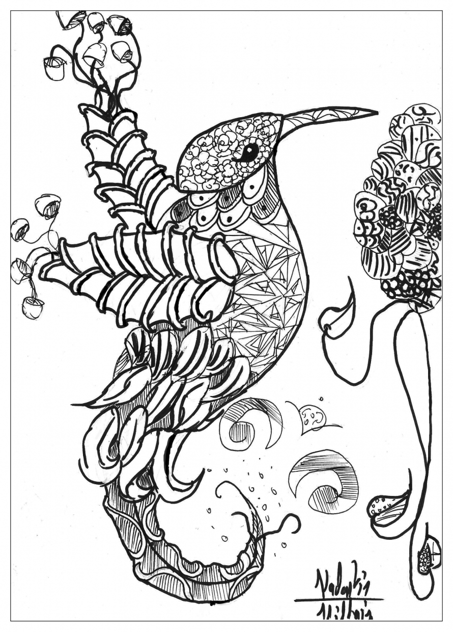 Get this free complex coloring pages printable wdci0 for Elaborate coloring pages