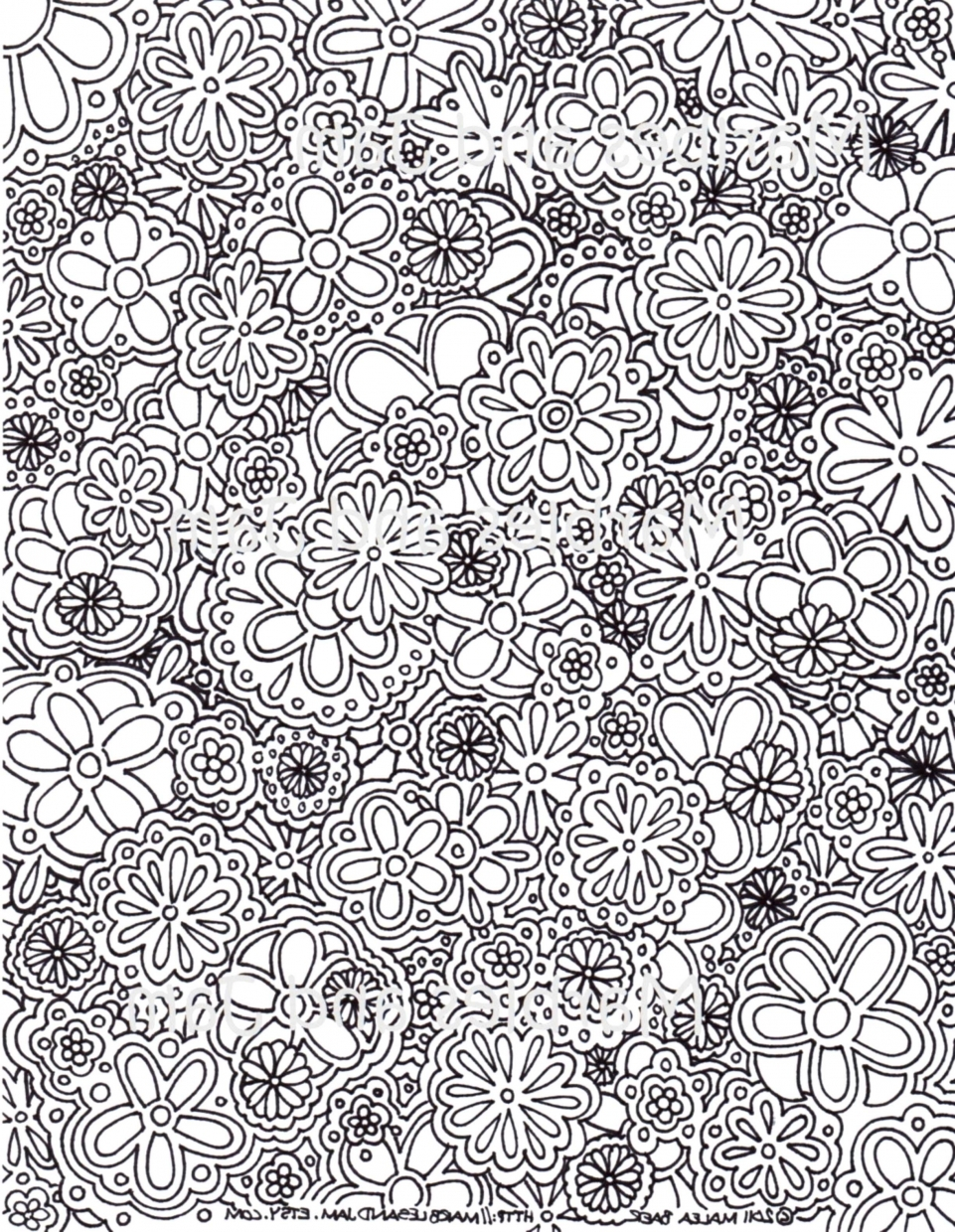Get This Free Complex Coloring Pages To Print For Adults S8CJE