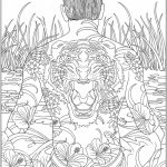 Free Complex Coloring Pages to Print for Adults   WABC8
