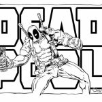 Free Deadpool Coloring Pages   467389