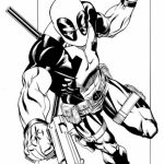 Free Deadpool Coloring Pages to Print   993962