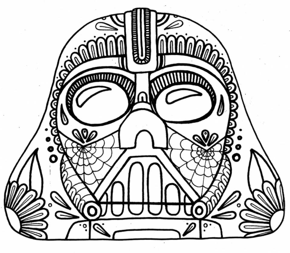 free dia de los muertos coloring pages to print t29m10 - De Los Muertos Coloring Pages